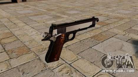 Colt 1911 pistol Snake Eater for GTA 4 second screenshot