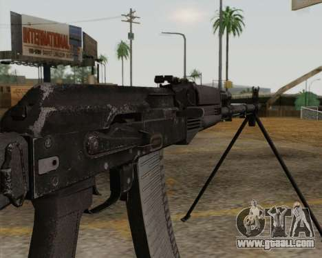 The RPK-74 m for GTA San Andreas third screenshot