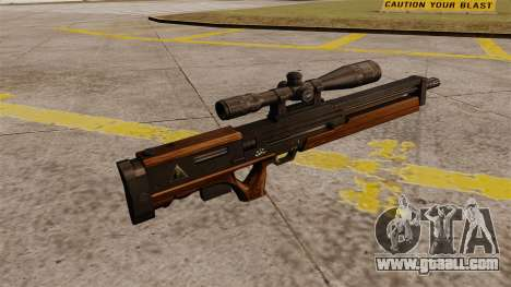 The Walther WA 2000 sniper rifle for GTA 4 second screenshot