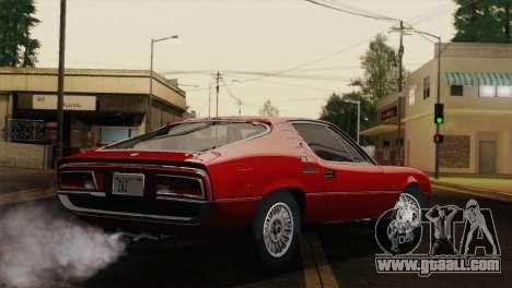 Alfa Romeo Montreal (105) 1970 for GTA San Andreas left view