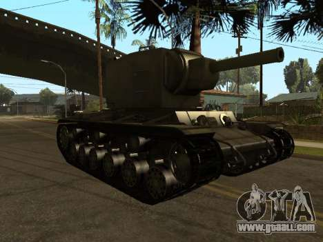 KV-2 for GTA San Andreas left view