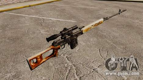 Dragunov sniper rifle v1 for GTA 4 second screenshot