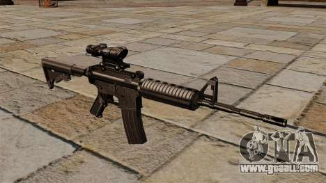 Automatic carbine M4A1 ACOG for GTA 4