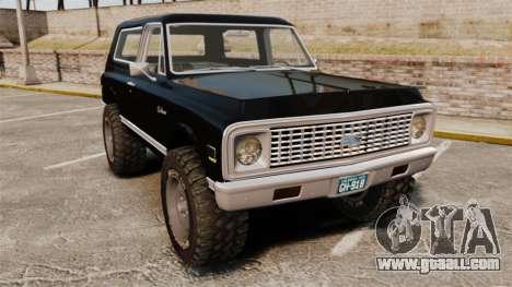 Chevrolet Blazer K5 1972 for GTA 4
