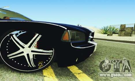 Dodge Charger DUB for GTA San Andreas upper view