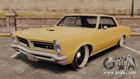 Pontiac GTO 1965 for GTA 4