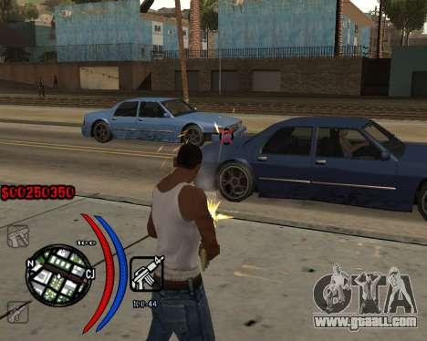 C-HUD Carbon for GTA San Andreas third screenshot