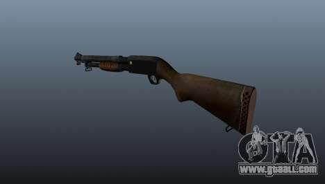M1897 Trenchgun Shotgun for GTA 4 second screenshot