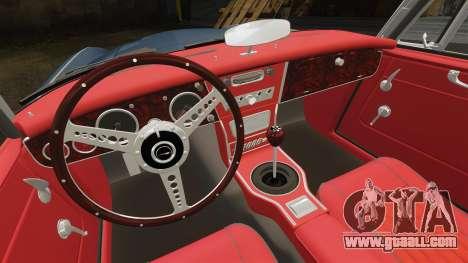 Austin-Healey 3000 Mk III 1965 for GTA 4 inner view