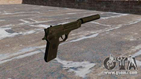 M9 self-loading pistol with silencer for GTA 4 second screenshot