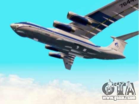 Il-76td Gazpromavia for GTA San Andreas back view