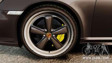 Porsche 911 Sport Classic 2010 for GTA 4 inner view