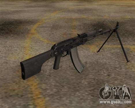 The RPK-74 m for GTA San Andreas second screenshot