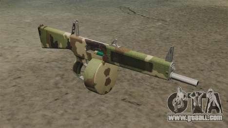 The AA-12 shotgun Camo v2 for GTA 4