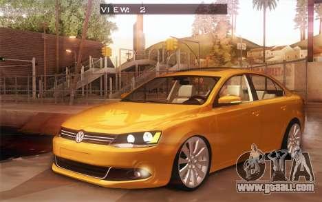 Volkswagen Vento 2012 for GTA San Andreas inner view