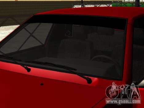 VAZ 21093i for GTA San Andreas back left view