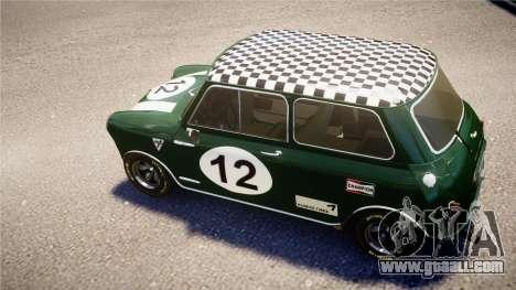 Austin Mini Cooper S for GTA 4 right view