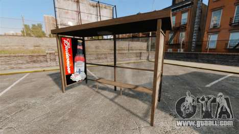 New posters at bus stops for GTA 4 fifth screenshot