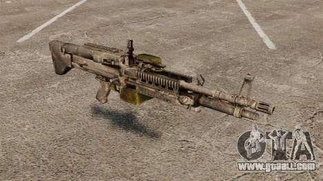General-purpose machine gun M60E4 for GTA 4