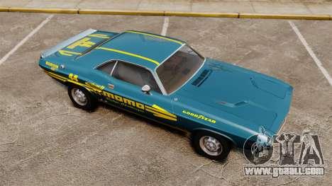 Dodge Challenger 1971 v1 for GTA 4 side view