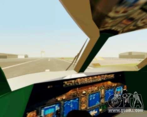 Sukhoi Superjet 100-95 Aeroflot for GTA San Andreas side view
