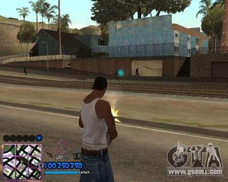 C-HUD by Dony Scofield for GTA San Andreas third screenshot