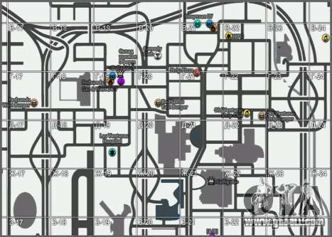 Map with Winter Edition [Samp-Rp] for GTA San Andreas second screenshot