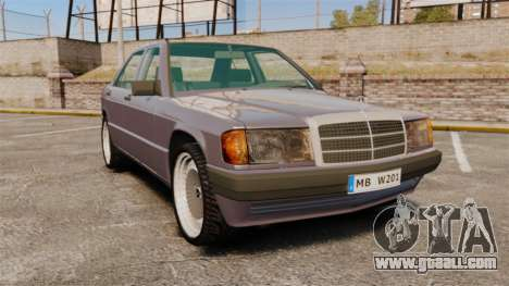 Mercedes-Benz E190 W201 for GTA 4