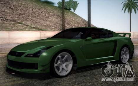Elegy RH8 from GTA V for GTA San Andreas inner view