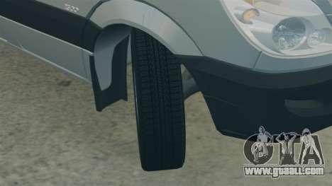 Mercedes-Benz Sprinter 2500 2011 v1.4 for GTA 4 side view