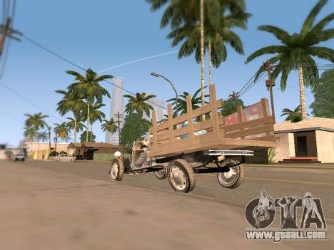 Citroen 2CV (Diana) for GTA San Andreas right view