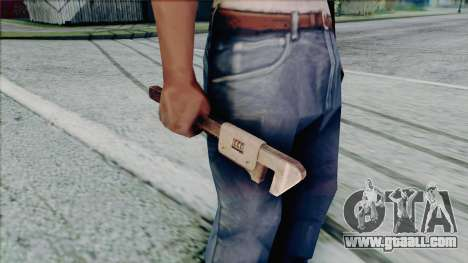 Adjustable wrench for GTA San Andreas fifth screenshot