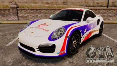 Porsche 911 Turbo 2014 [EPM] America for GTA 4