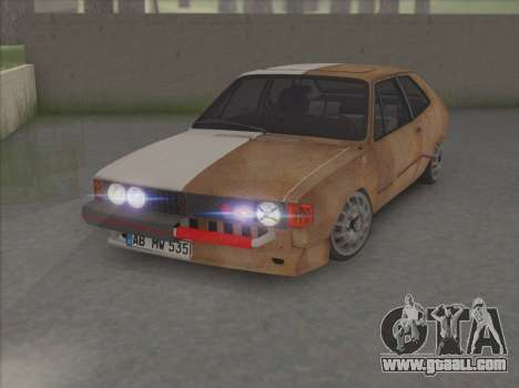 VW Scirocco S (Half) for GTA San Andreas