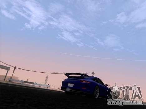 Porsche 911 GT3 2014 for GTA San Andreas side view