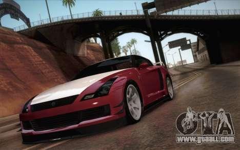 Elegy RH8 from GTA V for GTA San Andreas left view