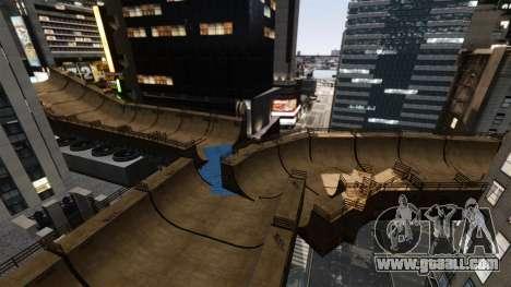 Algonquin Stunt Ramp for GTA 4 fifth screenshot