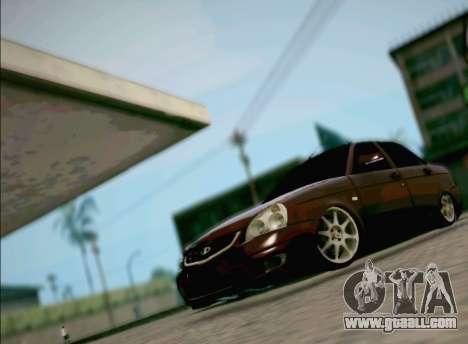 LADA 2170 Priora for GTA San Andreas
