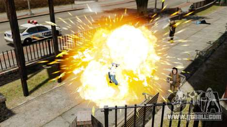 Exploding bullets for GTA 4 fifth screenshot