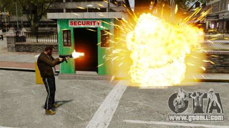 Exploding bullets for GTA 4