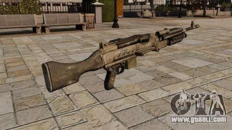 M240 general purpose machine gun for GTA 4 second screenshot