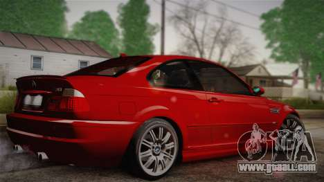 BMW E46 M3 Coupe for GTA San Andreas left view