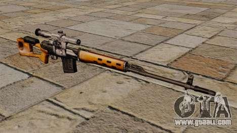 Dragunov sniper rifle of S.T.A.L.K.E.R. for GTA 4