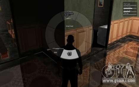 GTA V Weapon Scrolling for GTA San Andreas third screenshot