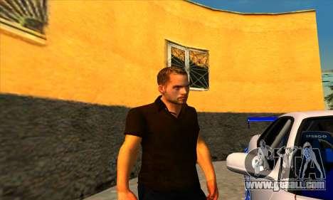 Paul Walker for GTA San Andreas third screenshot