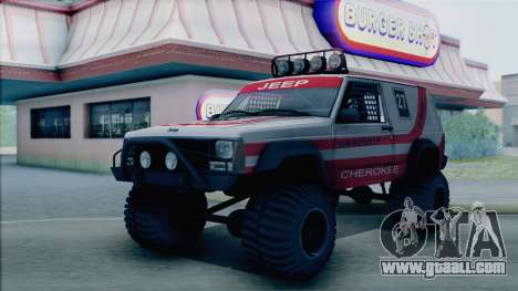 Jeep Cherokee 1984 Sandking for GTA San Andreas