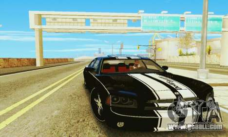 Dodge Charger DUB for GTA San Andreas back left view