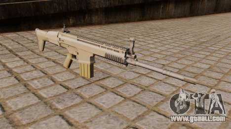 FN SCAR-H Rifle for GTA 4