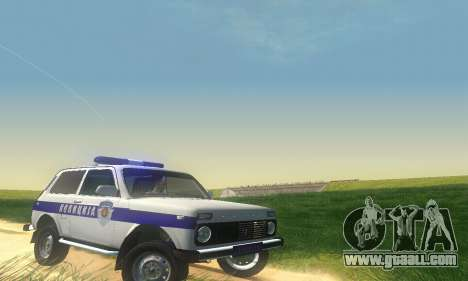 Lada Niva Patrola for GTA San Andreas