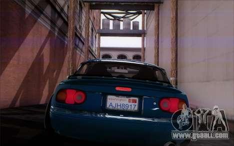 Mazda Miata for GTA San Andreas back view